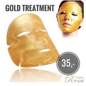 Internationale vrouwendag Gold treatment