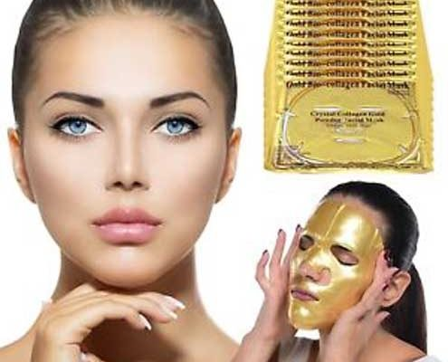 Gold treatment gezichtsbehandeling Gold