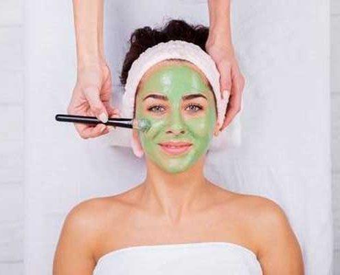 gezichtsbehandeling Algen