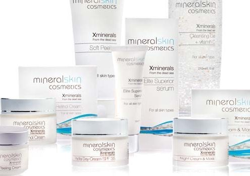 Minerale gezichtsbehandeling